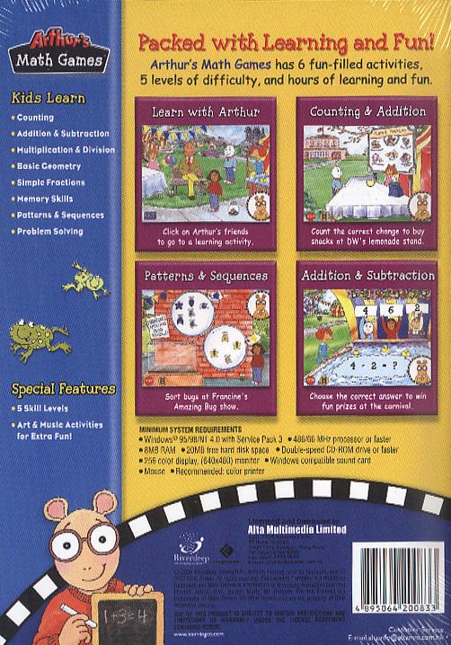 Arthur Games For Kids