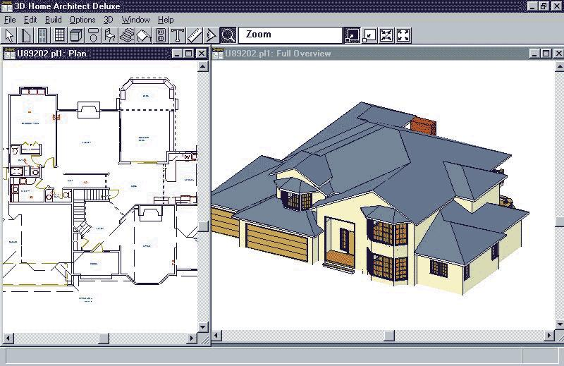 3d Home Architect Deluxe Pc Cd Build Plan Remodel Design House Interior Rooms Ebay