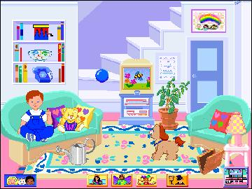 Fisher Price Dream Dollhouse PC CD pretend house chores on
