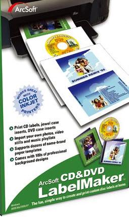 memorex dvd inserts template - arcsoft cd dvd labelmaker pc cd design create own custom