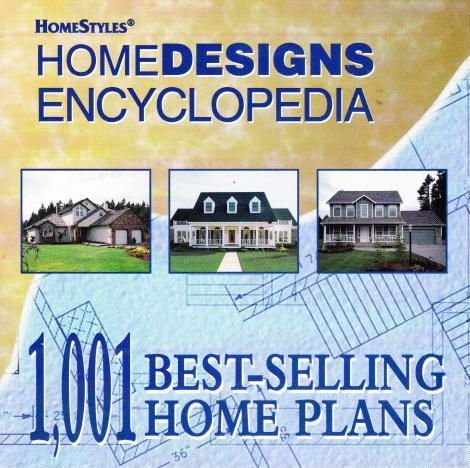Home designs encyclopeida pc cd 1 001 house plans variety for Variety home designs