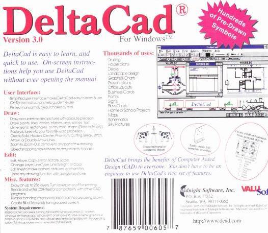 Deltacad Cad Program Review