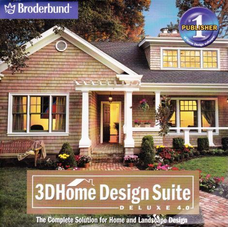 3d home design suite deluxe 4 0 pc cd 5 house tools 3d for 3d home architect landscape design deluxe v6 0