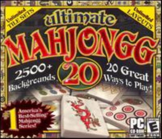 Ultimate Mahjongg 20 Pc Cd Classic Ancient Matching Tiles