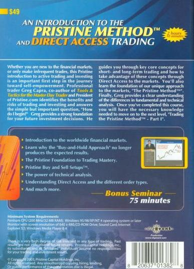 An introduction to direct access trading strategies