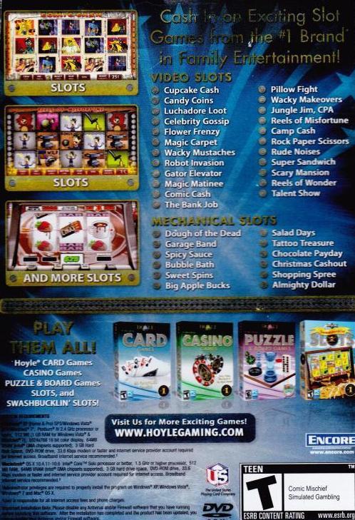 Video Slots Dvd