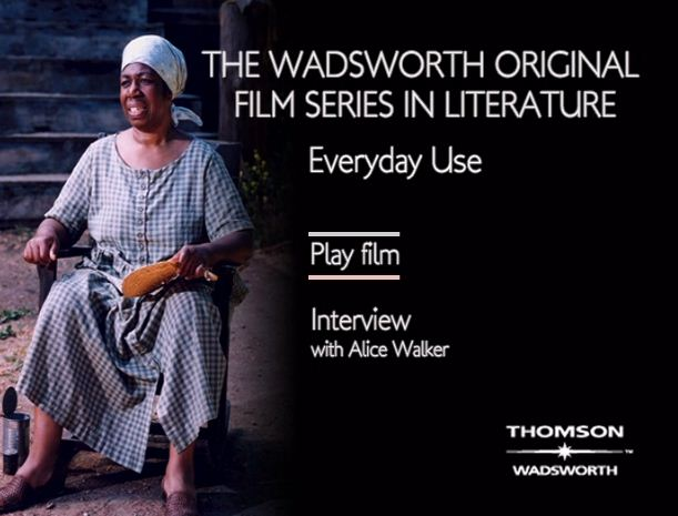 alice walkers short story everyday use essay 1 which additional story did you choose to read the additional story i chose to read is everyday use by alice walker that is an anthologized short story.