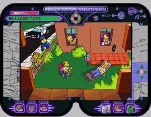 The simpsons virtual springfield pc mac cd cartoon tv for Virtual springfield