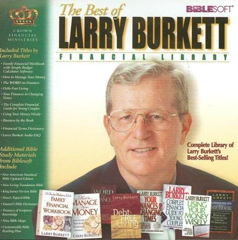 The Best Of Larry Burkett Financial Library Pc Cd Titles