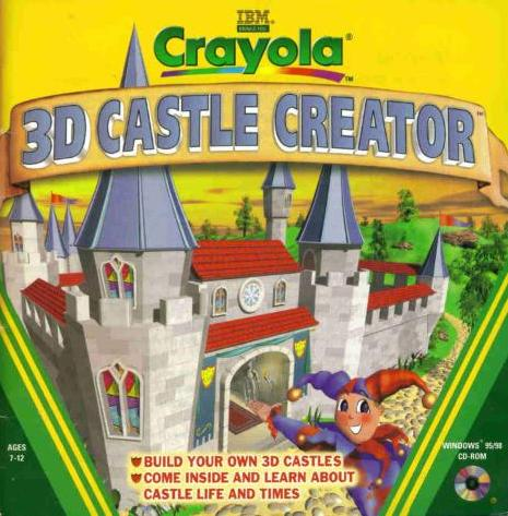 Crayola 3d castle creator pc cd build own medieval for 3d building creator