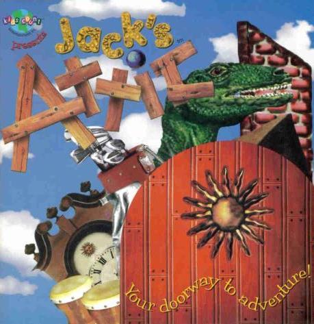 Jack S Attic Amp Jack S House Pc Cd Kids Adventure Games Ebay