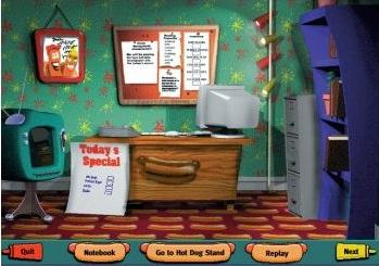 games hot dog stand