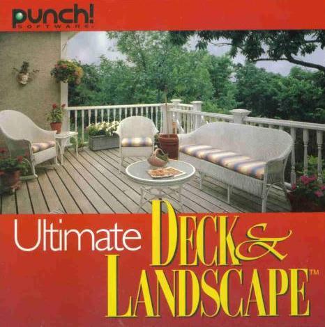 Punch ultimate deck landscape pc cd design addon to for Ultimate landscape design