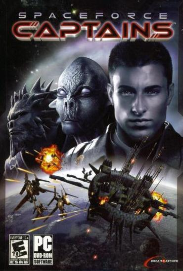 Captains + Manual PC DVD turn based space real time war strategy game