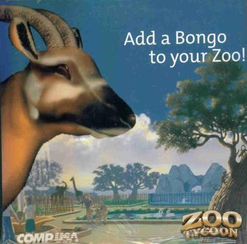 Details about Zoo Tycoon w/ Bonus Animal Bongo CD PC park sim game!