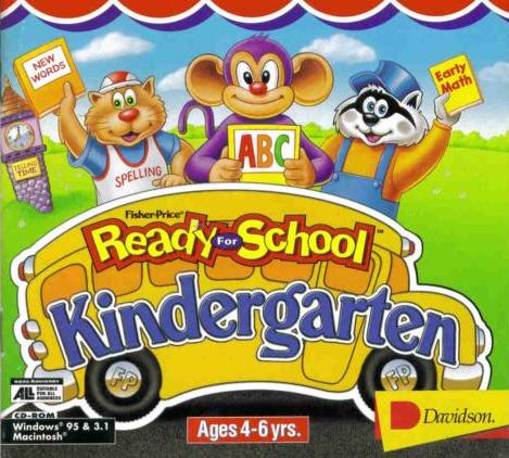 Fisher Price Ready For School Kindergarten Games