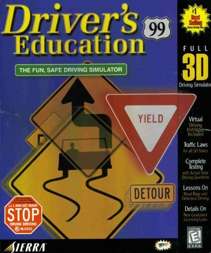 Driver S Education: Driver's Education 99 PC CD Learn To Drive Car Driving