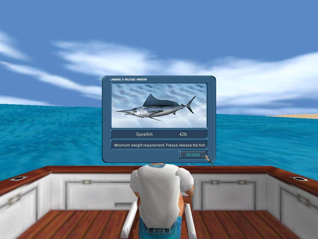 Deep sea fishing 2 offshore angler pc cd fish open ocean for Sea fishing games