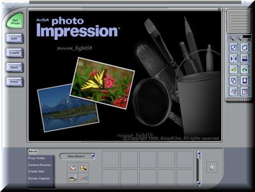 arcsoft photoimpression 3.0