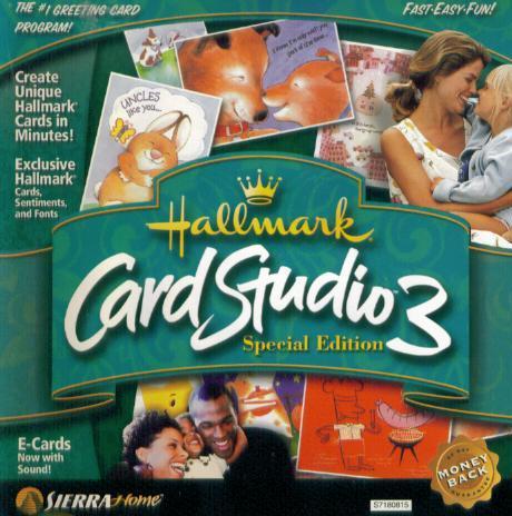 Hallmark Card Studio SE PC CD Create Custom Greeting Messages - Create an invoice on paypal hallmark store online