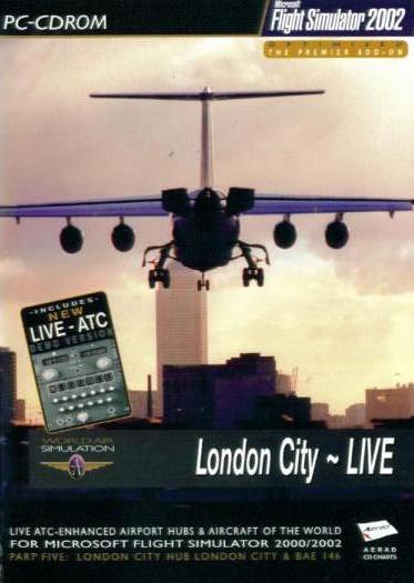 Details about London City Live w/ Manual for Flight Simulator 2002 PC CD  game airport xtra BOX