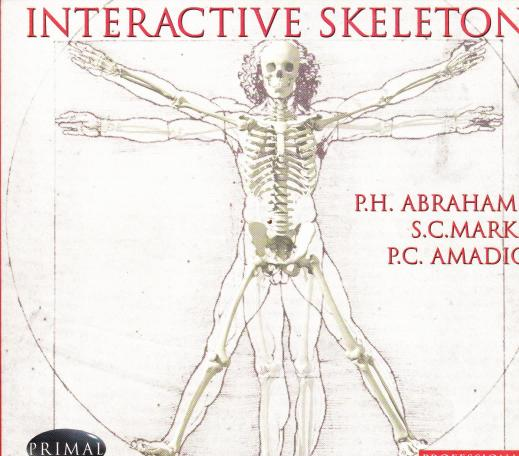 Interactive Skeleton Professional PC CD accurate human educational ...
