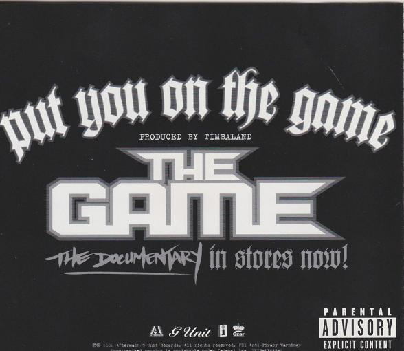 The Game: Put You On The Game PROMO MUSIC AUDIO CD Timbaland