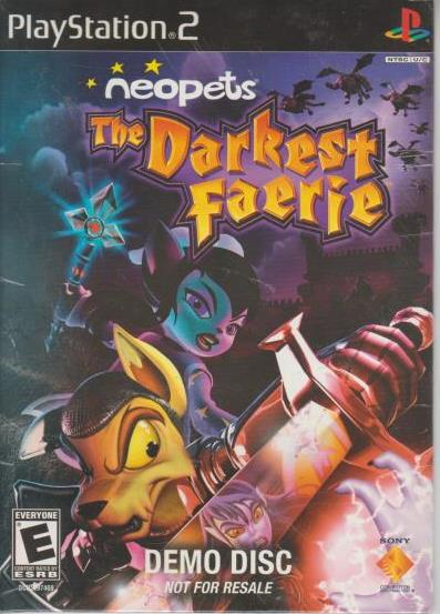 Details about Neopets: The Darkest Faerie DEMO DISC PLAYSTATION 2 PS2  magical adventure game!