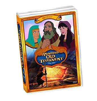 Details about Animated Old Testament Vol 1 5-Disc Set DVD VIDEO MOVIE Bible  children's NEST
