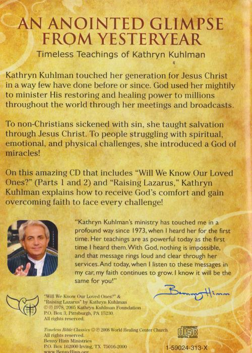 Details about Timeless Bible Classics Kathryn Kuhlman AUDIO CD overcoming  challenge with faith