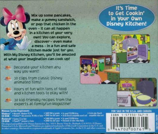 for windows 32 bit systems please review compatibilityplatform sections - My Disney Kitchen