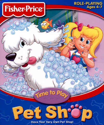 Fisher Price: Time to Play Pet Shop (1998) : Fisher Price ...